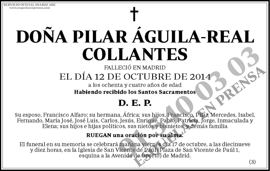 Pilar Águila-Real Collantes